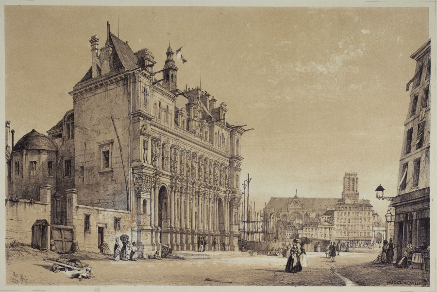 Hôtel de Ville.  Wyld, William