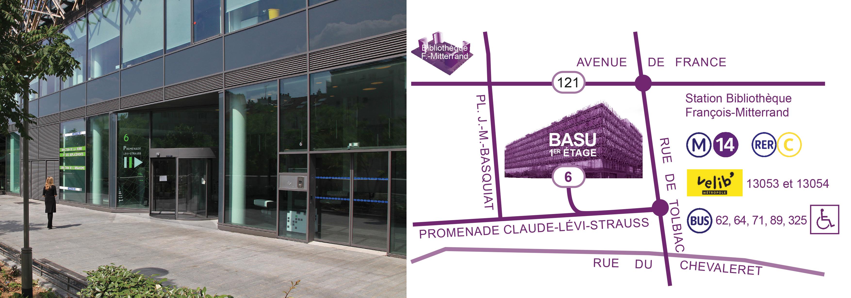 Plan accès BASU