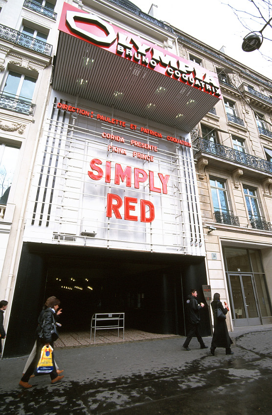 L'Olympia 24 boulevard des Capucines (8e) en 2000