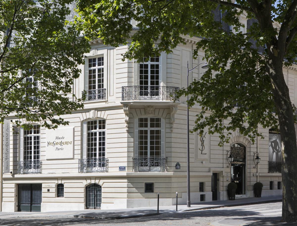 Vue du Musée Yves Saint Laurent Paris 5 Avenue Marceau, 75116 Paris