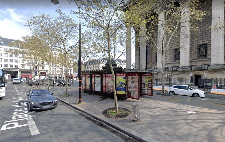 Kiosque Ville Place de la Madeleine (8e)