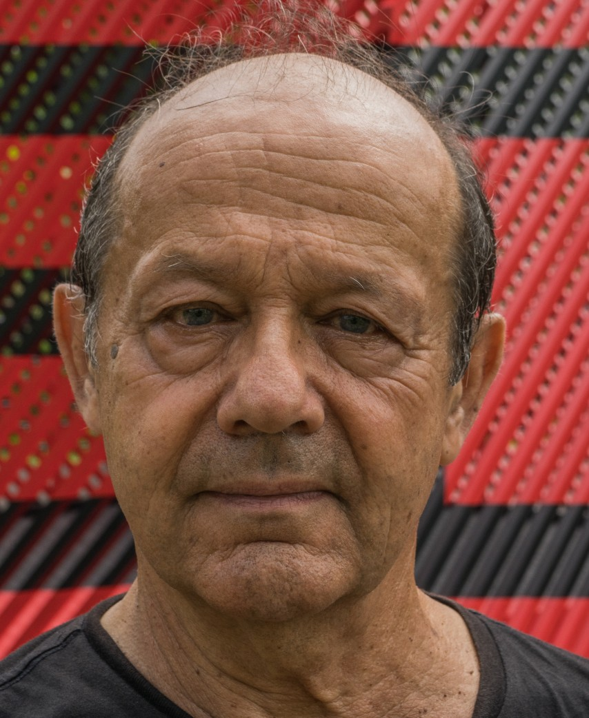 Autoportrait de Georges Rousse