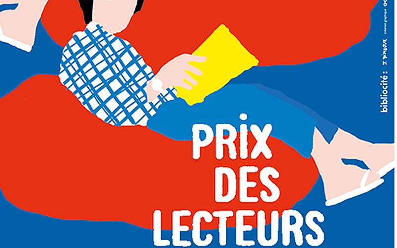 affiche Prix des lecteurs du premier roman des bibliothèques de la Ville de Paris
