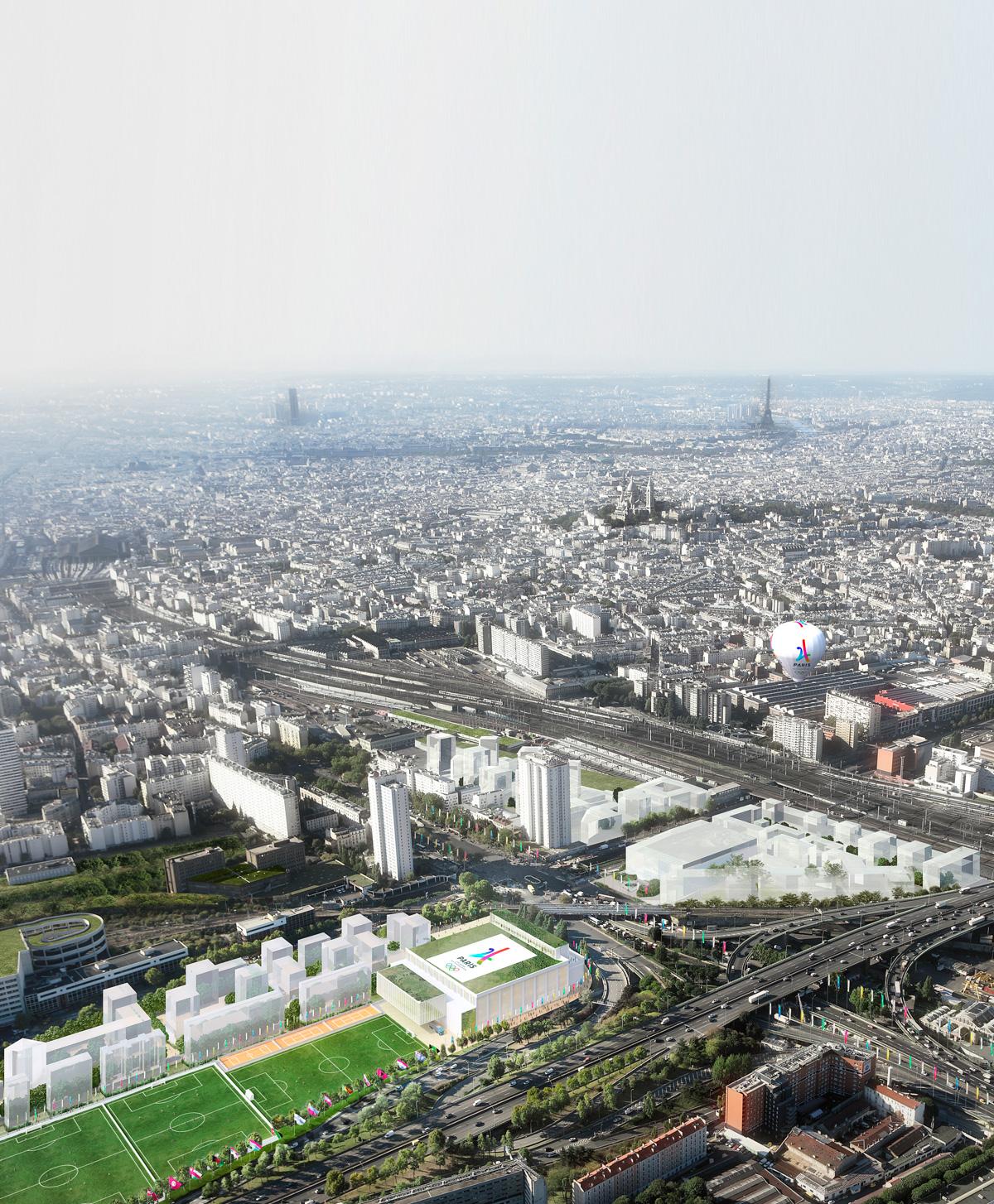 Emblème actuel de Paris 2024