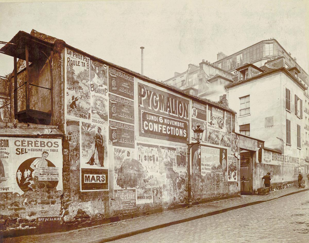 93 rue d'Angoulème à Paris en 1905