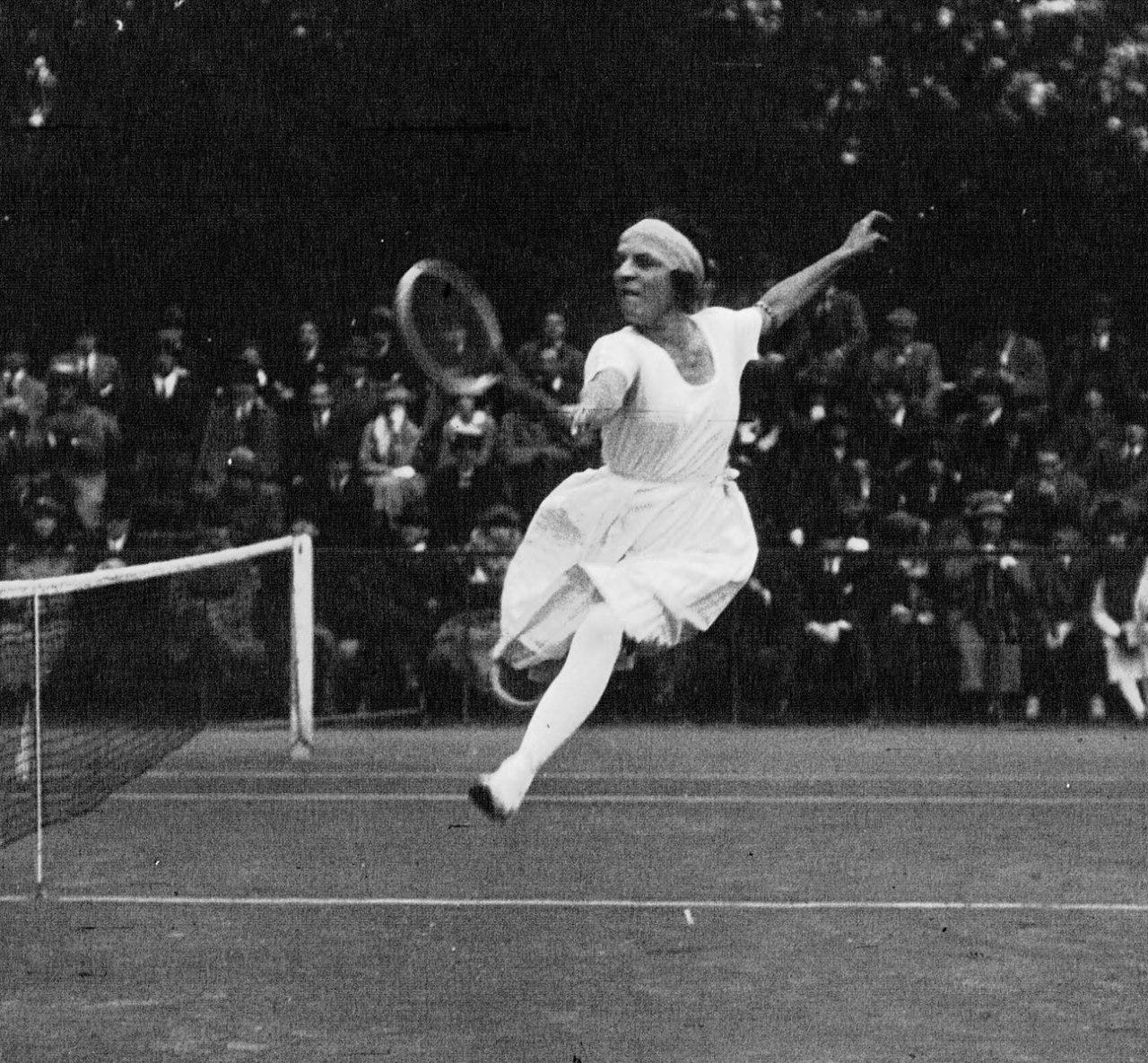 Suzane Lenglen, championne de Tennis