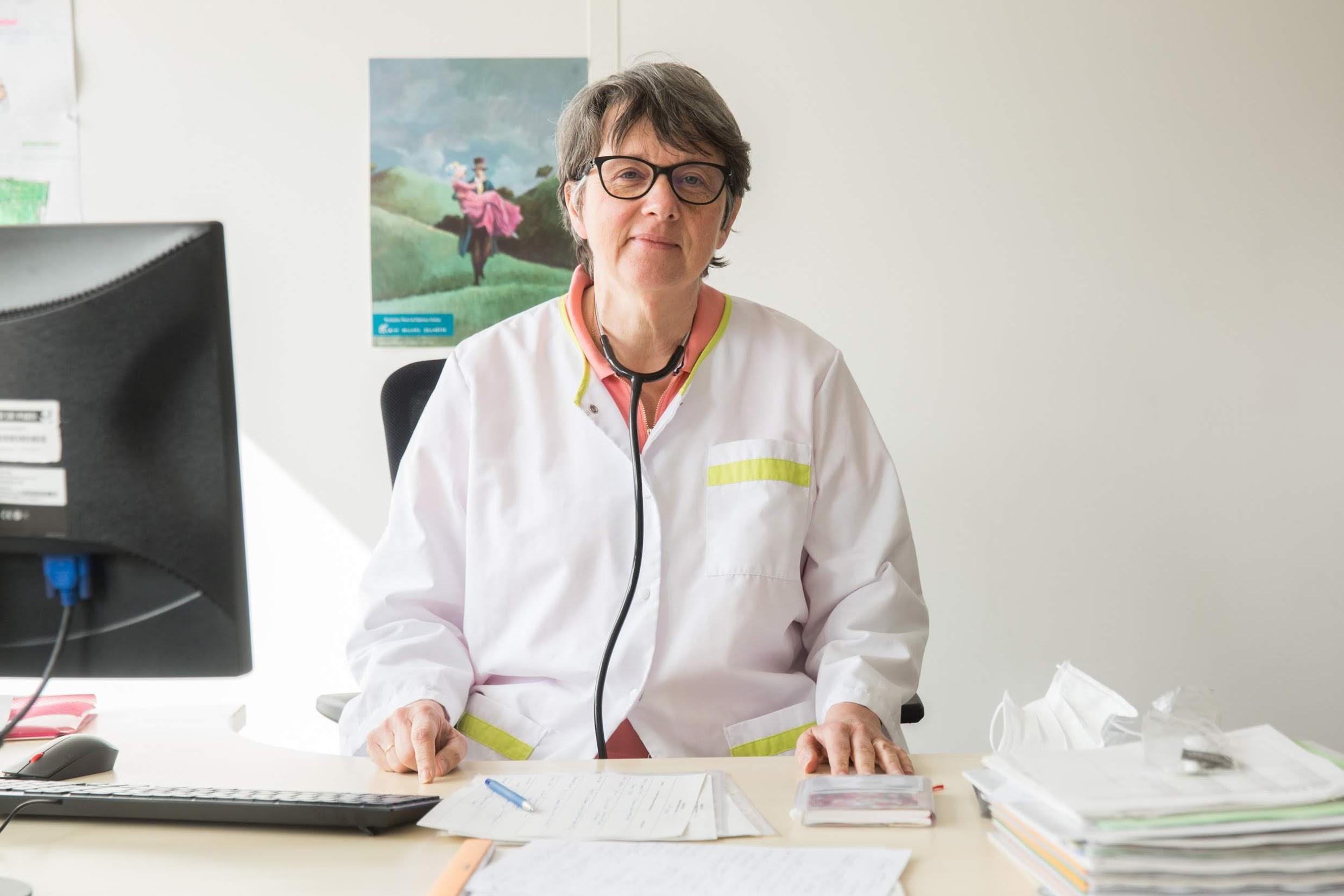 Emmanuelle Berraute, Médecin en PMI