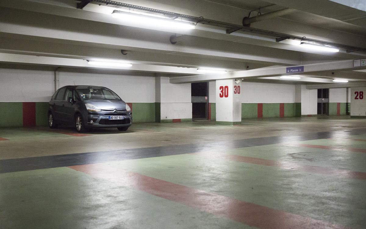 Parking relais.