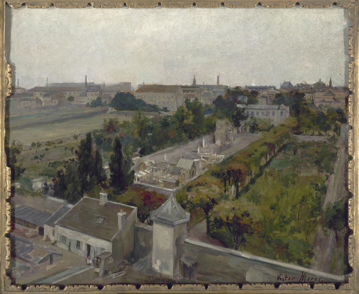 Le cimetière de Picpus et le champ des Martyrs, où furent enterrées les victimes de la Révolution guillotinées à la barrière du Trône.