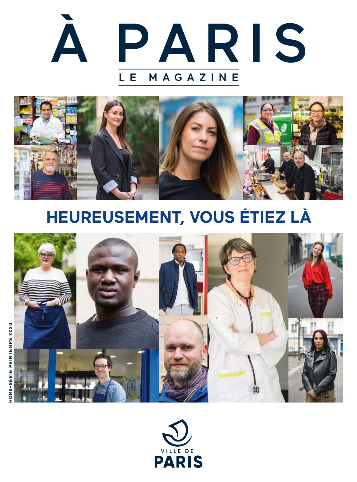 Couverture hors-série A Paris printemps 2020