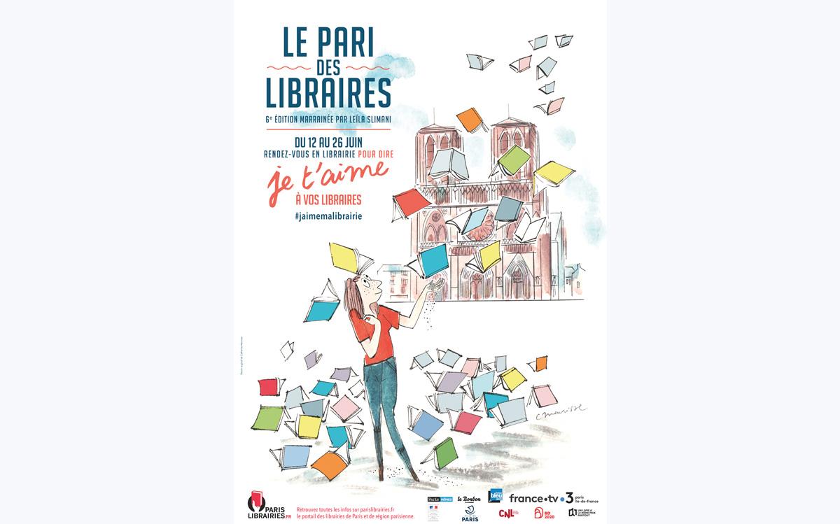 Affiche Le Pari des libraires