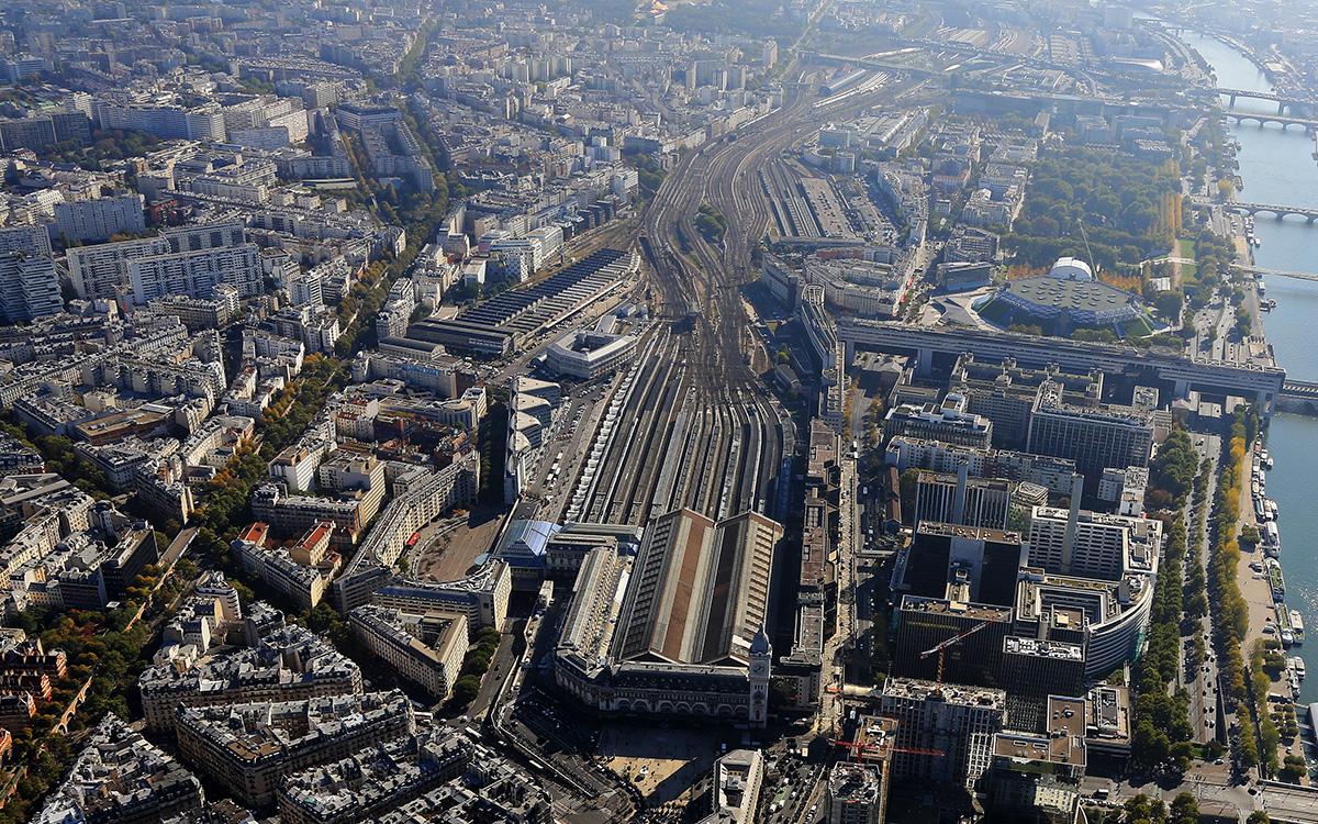 Rue de Chalon - Vue aérienne