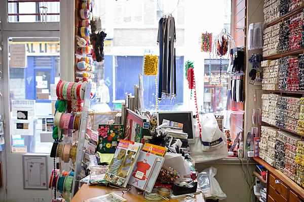 """La boutique existe depuis 60 ans. """"Quand les anciens propriétaires sont partis en retraite, ils ne voulaient pas que la boutique change d'activité, alors je me suis lancée."""""""