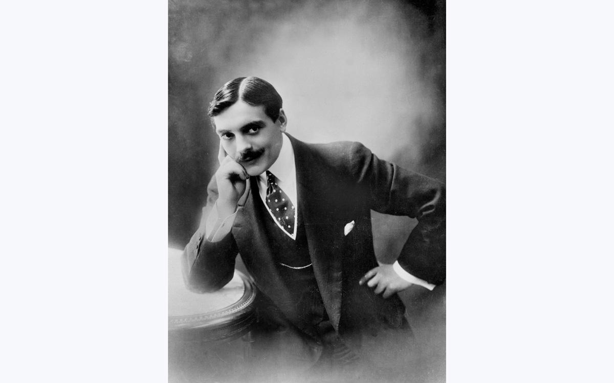 Max Linder (1883-1925), acteur et cinéaste français.