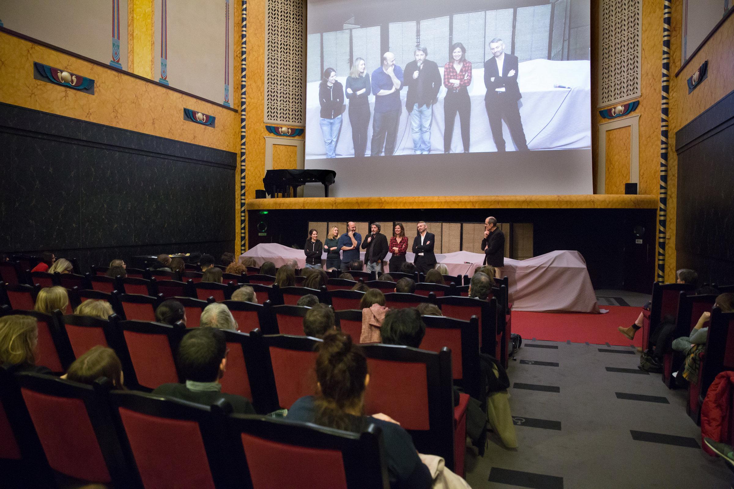 La salle de projection entièrement renovée du Louxor