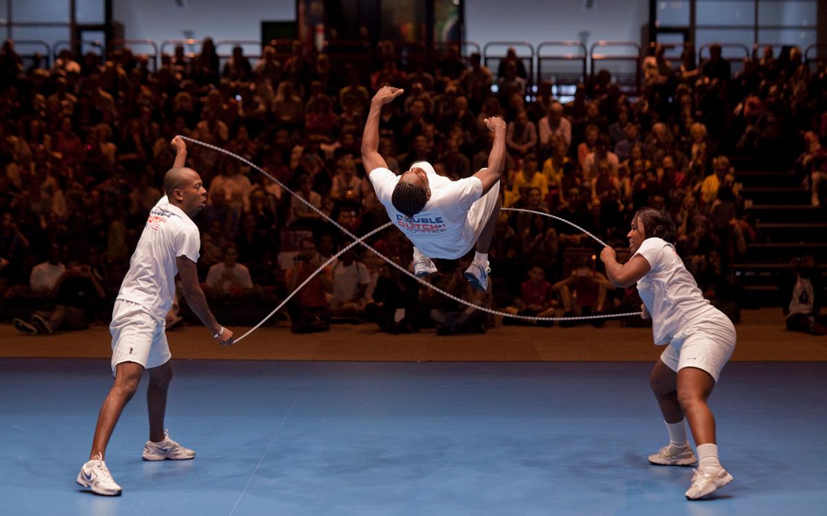 Championnat international à la Halle Georges Carpentier Double Dutch, 81 Boulevard Masséna