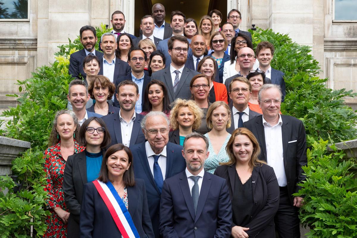 Adjoint·e·s à la maire de Paris