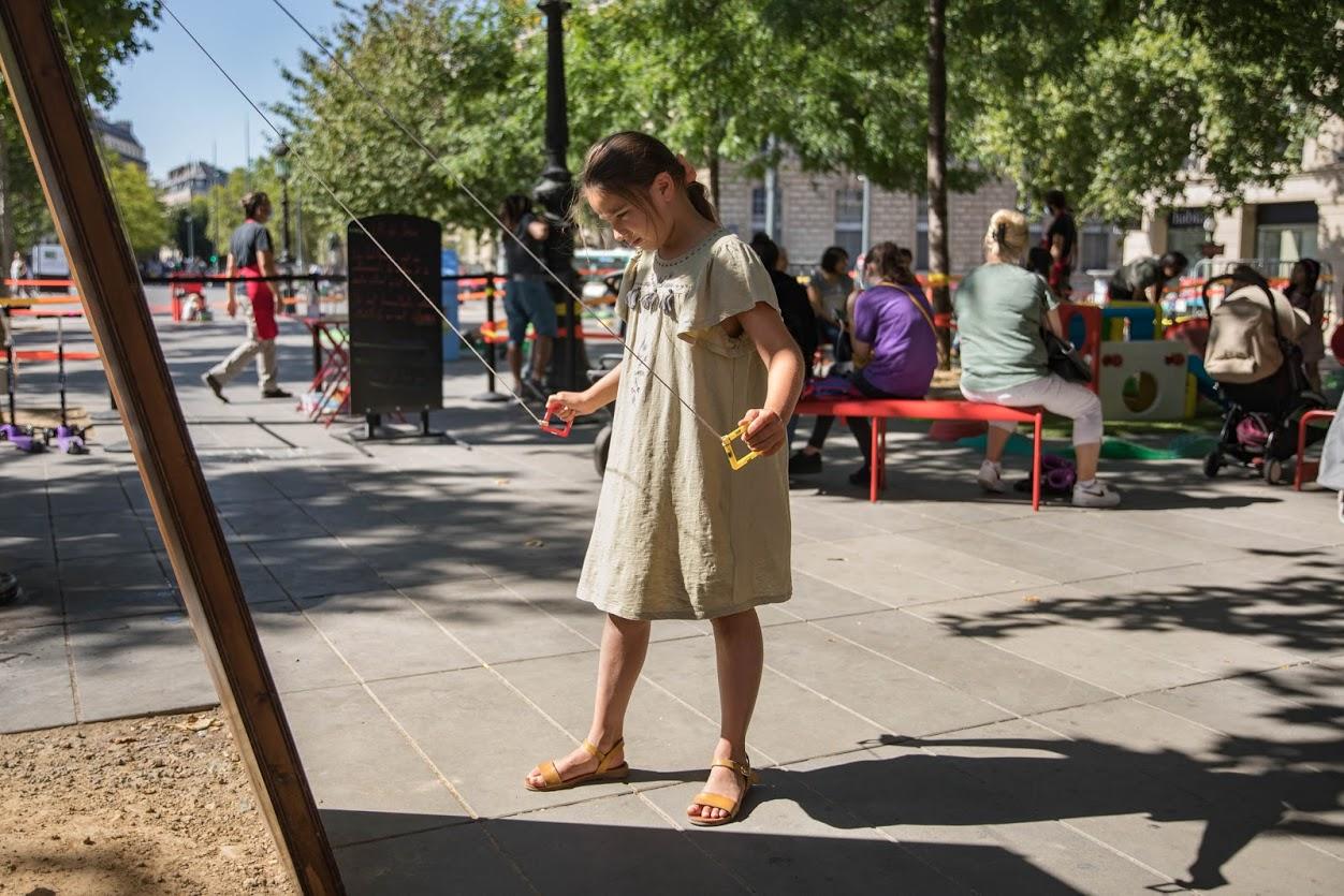 R de jeux place République / enfant : Gabrielle Marteau (autorisation OK)