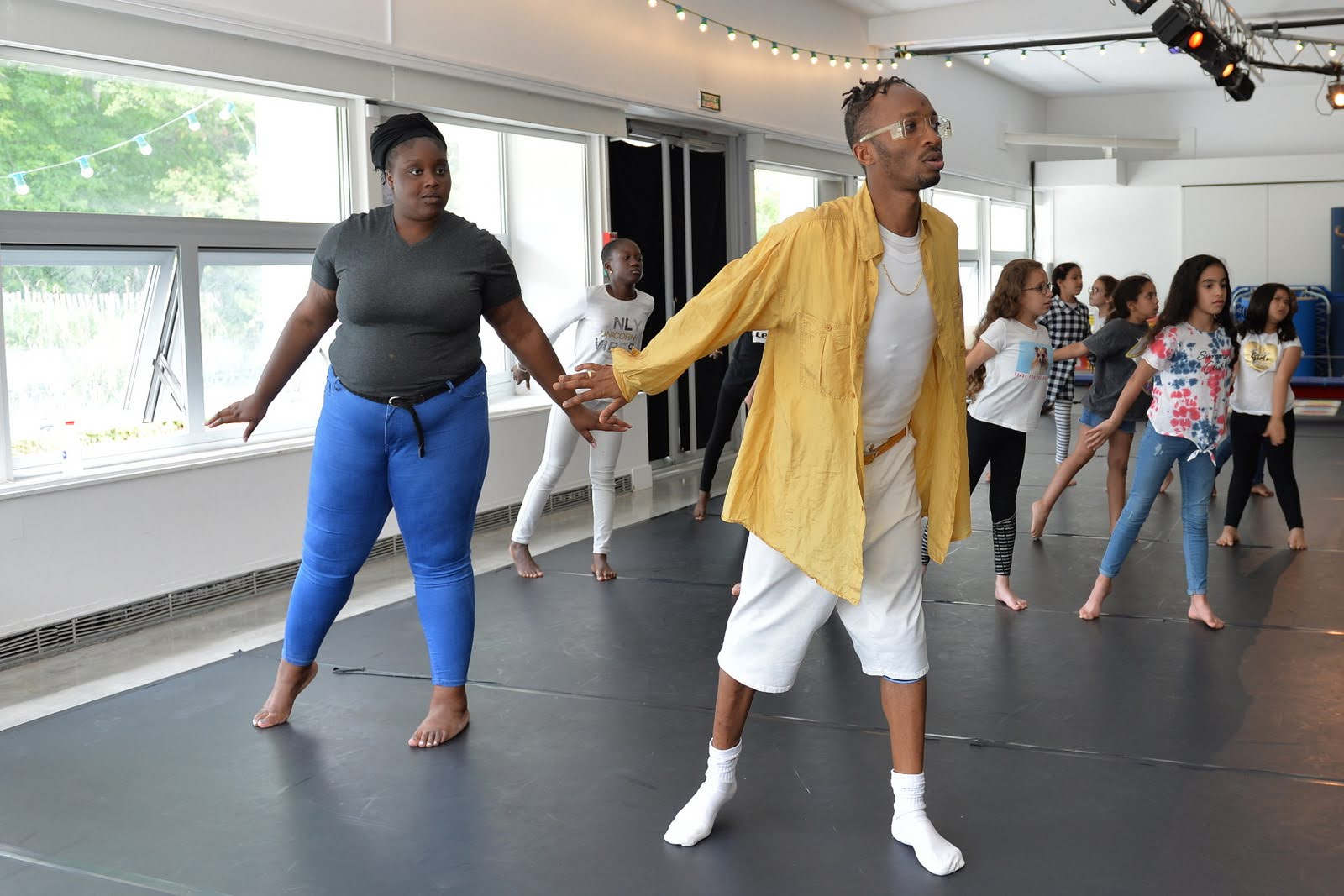 Vacances apprenantes : atelier de hip hop à la Villette