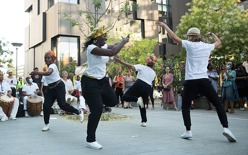 Danseuses afro-antillaises - Compagnie Difé Kako