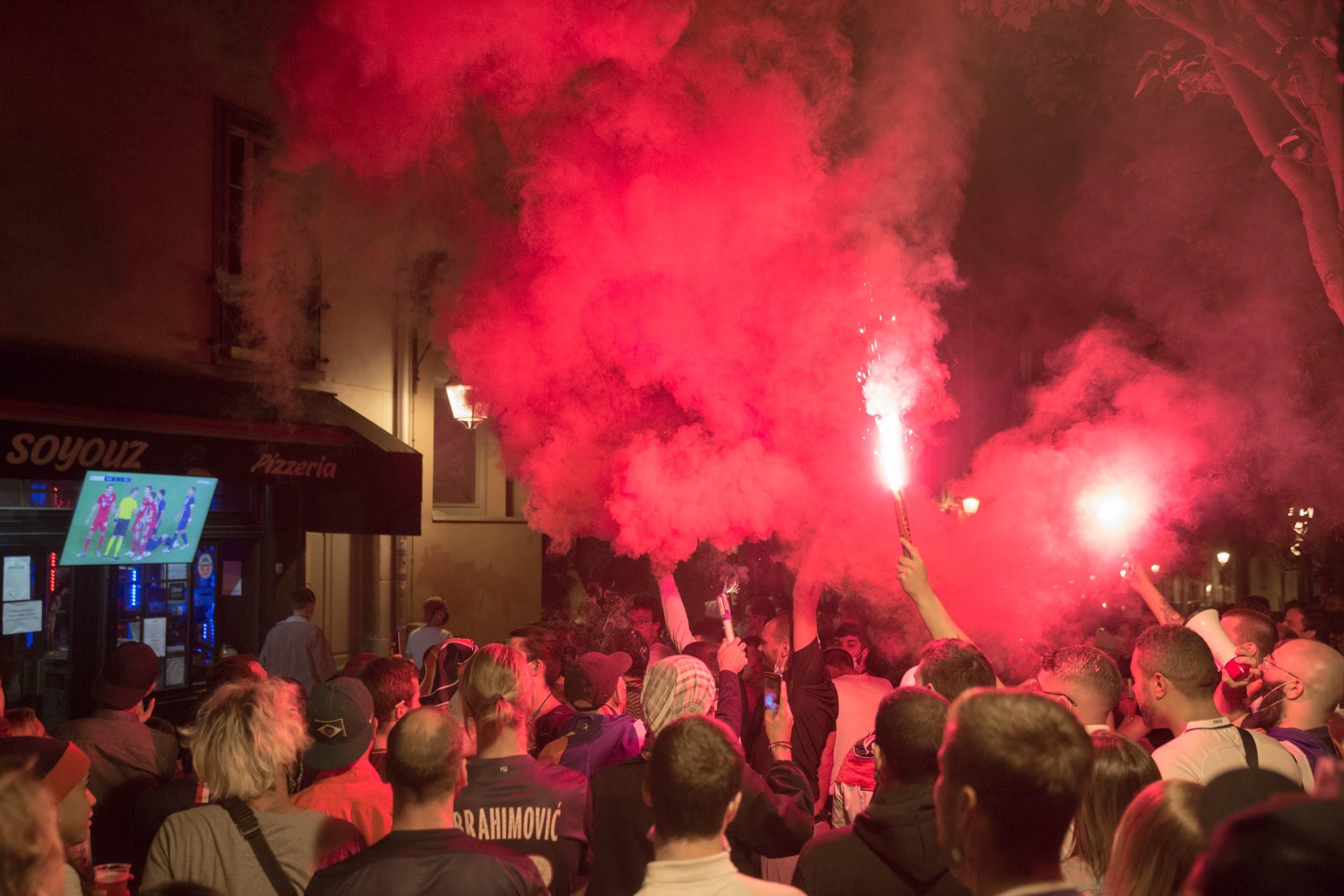 Finale de la ligue des champions PSG-Bayern à la butte-aux-cailles, 13e