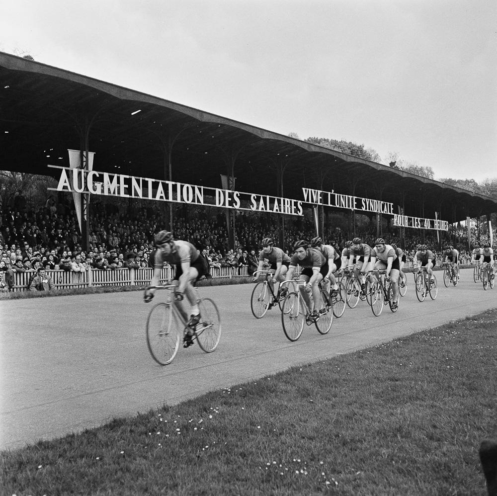 Meeting Sportif à la Cipale en 1956