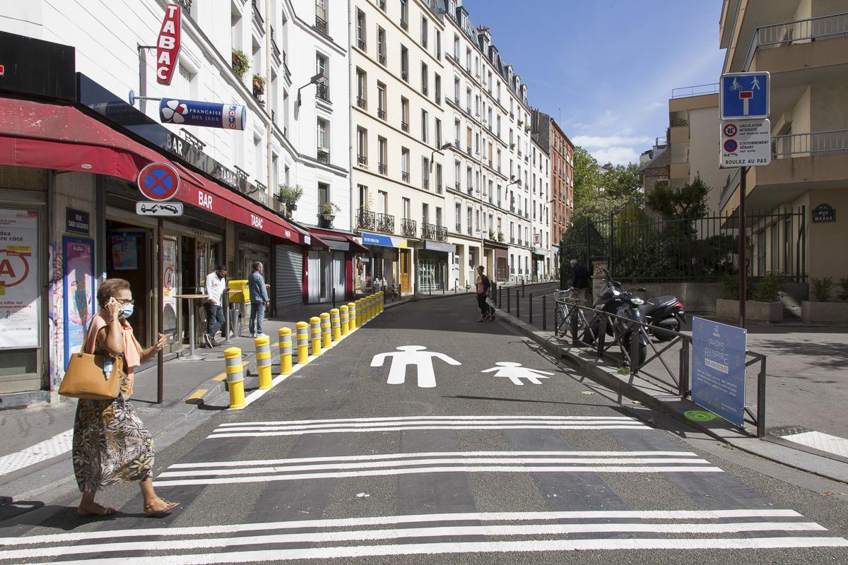 Une «Rue aux écoles », rue Sadi-Lecointe (19e)