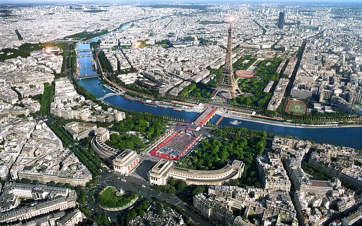 Découvrez les sites des Jeux Olympiques et - Ville de Paris