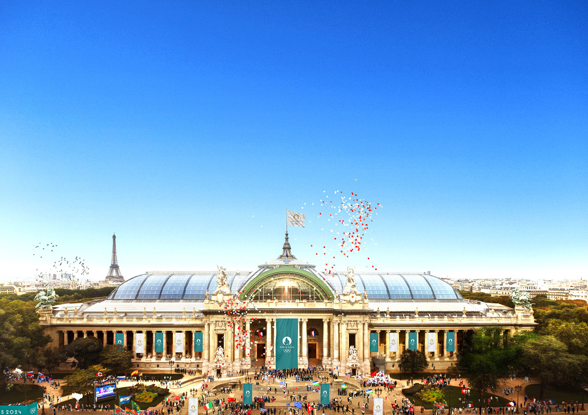 Paris2024 Le Grand Palais