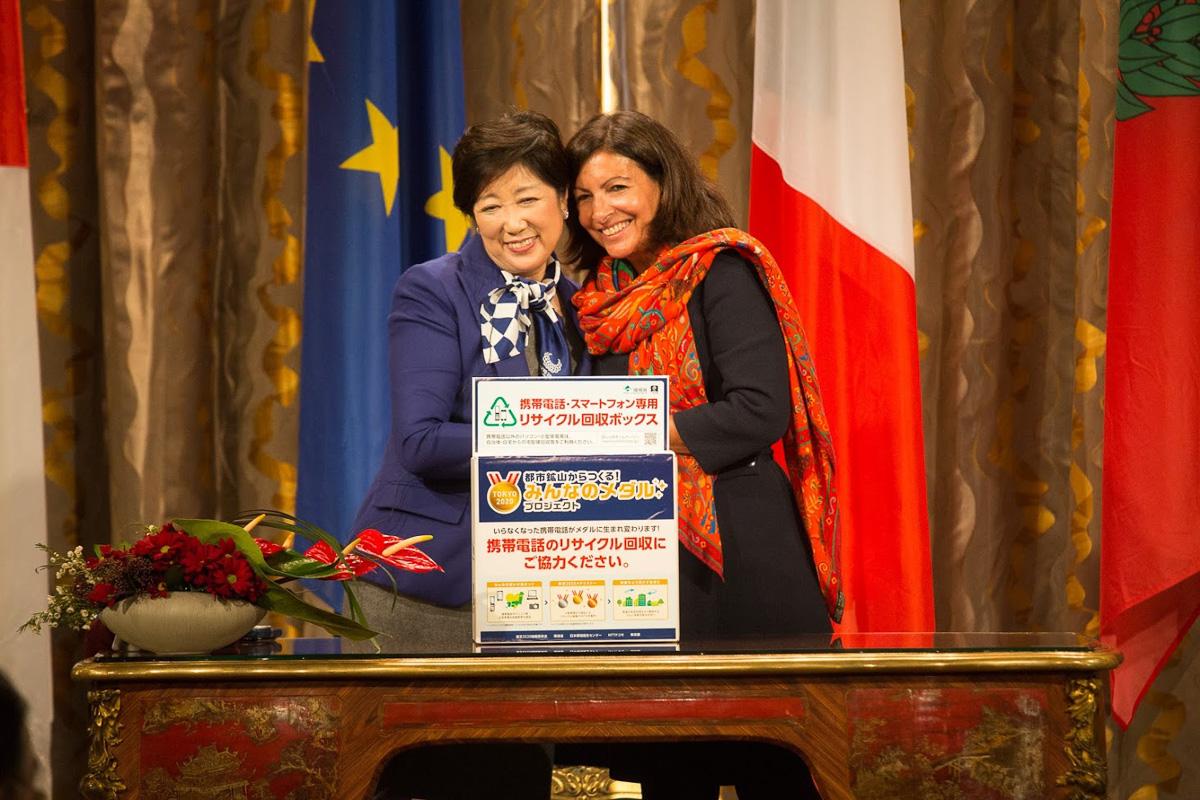 Rencontre avec Yuriko Koike, gouveneure de Tokyo