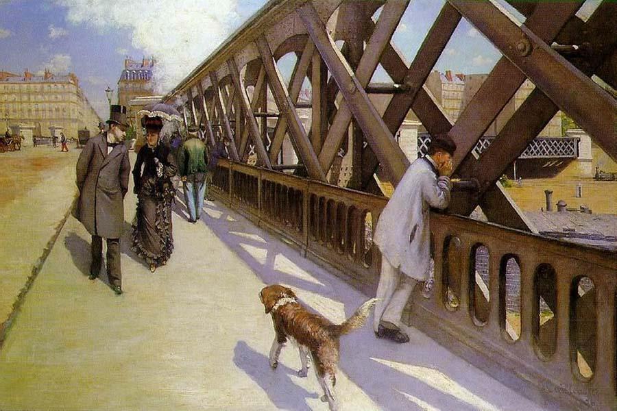 Gustave Caillebotte - Le Pont de l'Europe