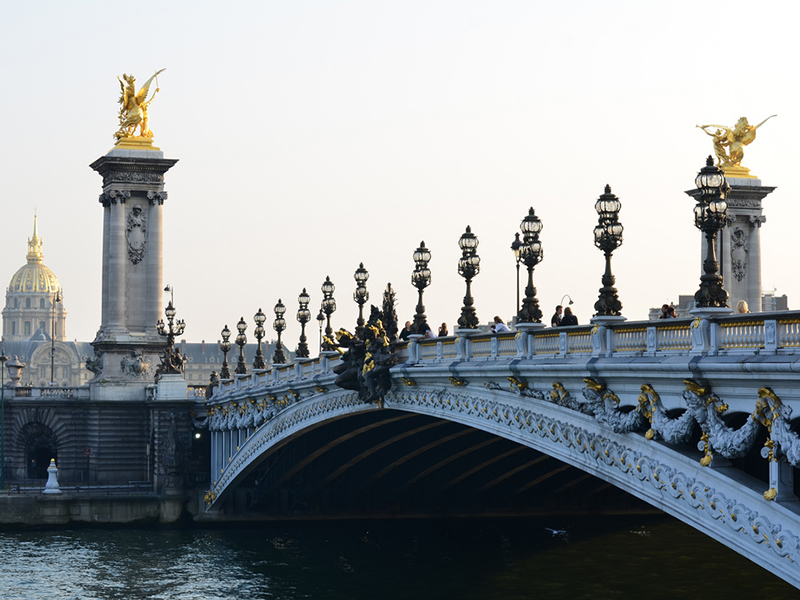 Pont Alexandre III - Paris 8e