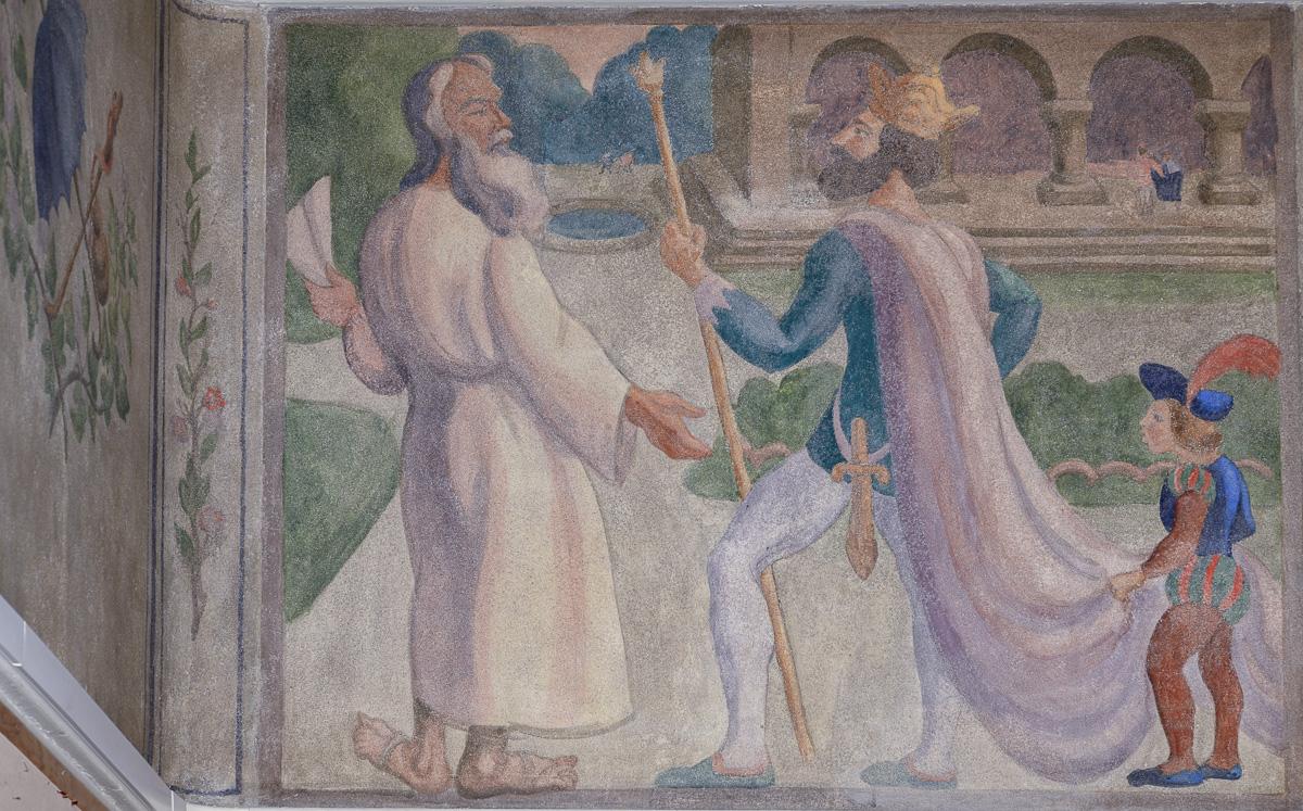Le roi Dagobert, illustré par Jules Emile Zingg