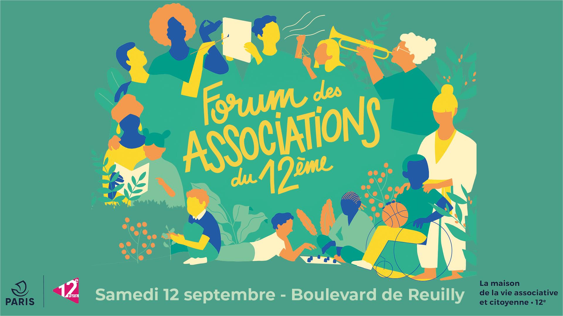 Le Forum Des Associations Revient Mairie Du 12ᵉ