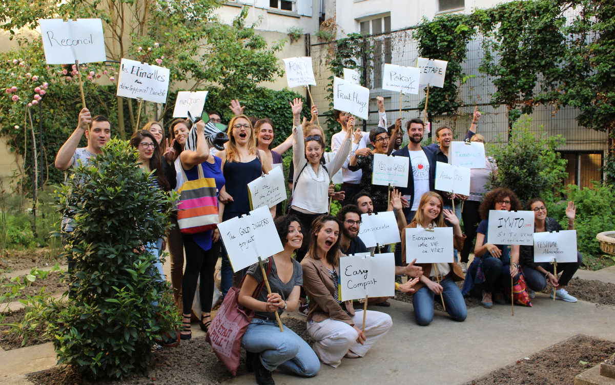 Soirée réseautage et papotage à la Maison des Acteurs du Paris Durable