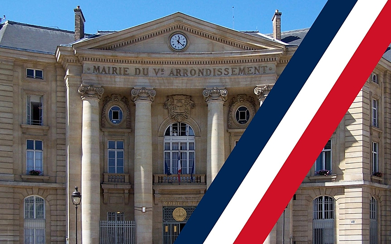 visuel de la Mairie du 5ème arrondissement