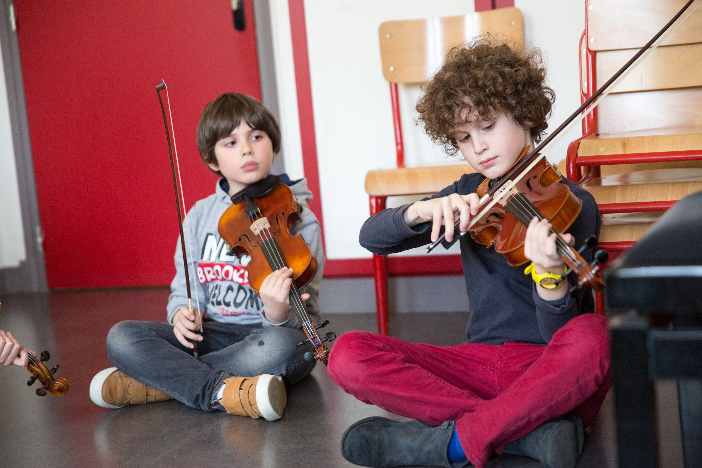 Cours orchestre violon et alto au conservatoire Francis-Poulenc (16e)
