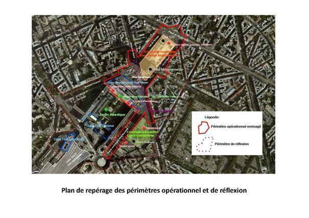 périmétre projet Maine Montparnasse
