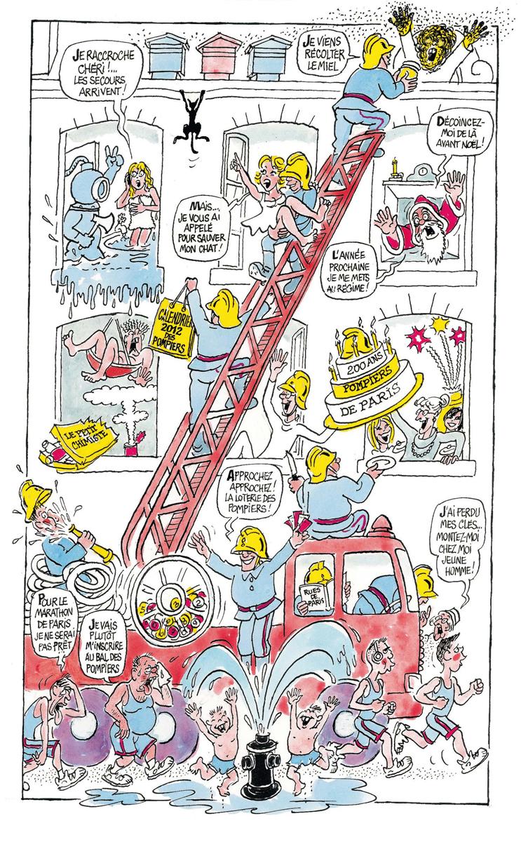 200 ans des pompiers de Paris (2011)
