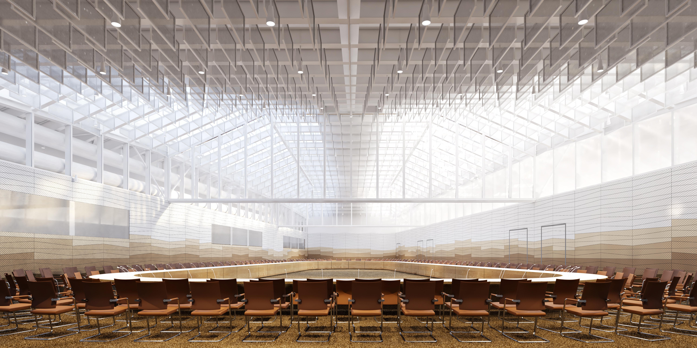 La future grande salle de réunion de l'ESA