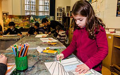 atelier arts plastiques pour les enfants