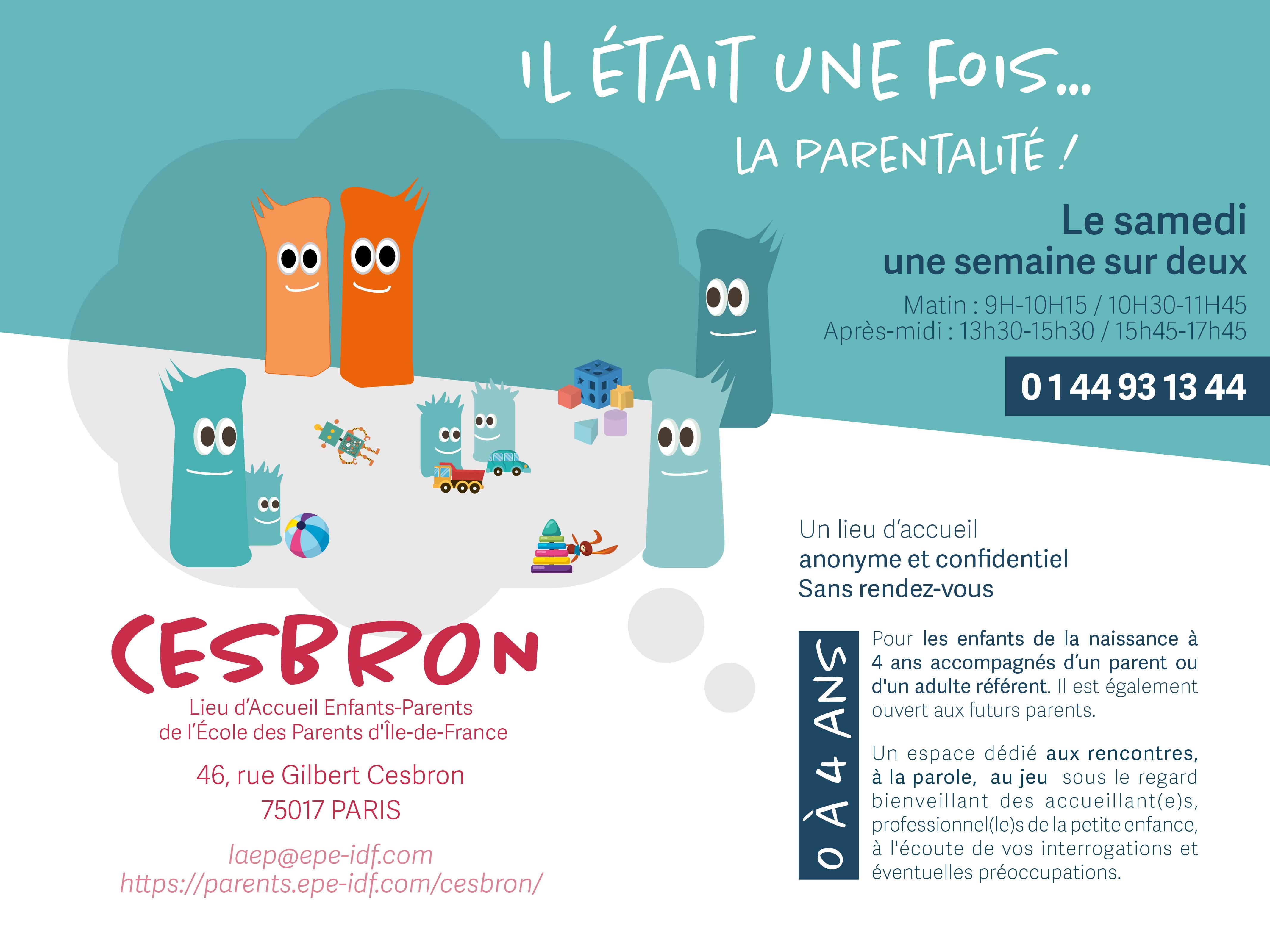 Affiche RDV Cesbron