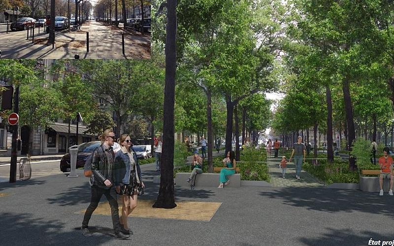 Etat projeté boulevard Pasteur 1