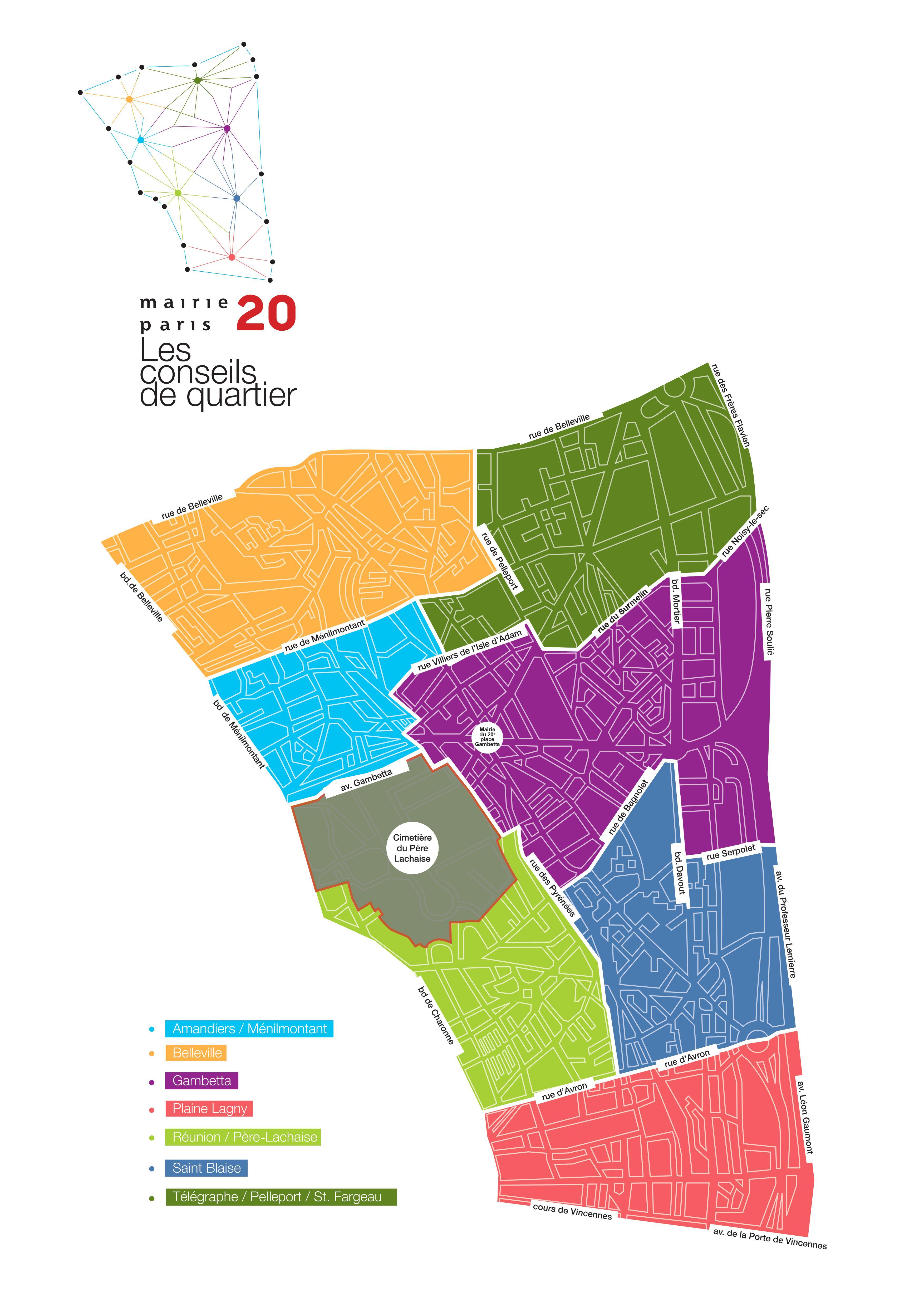 Plan Conseils de quartier 20e