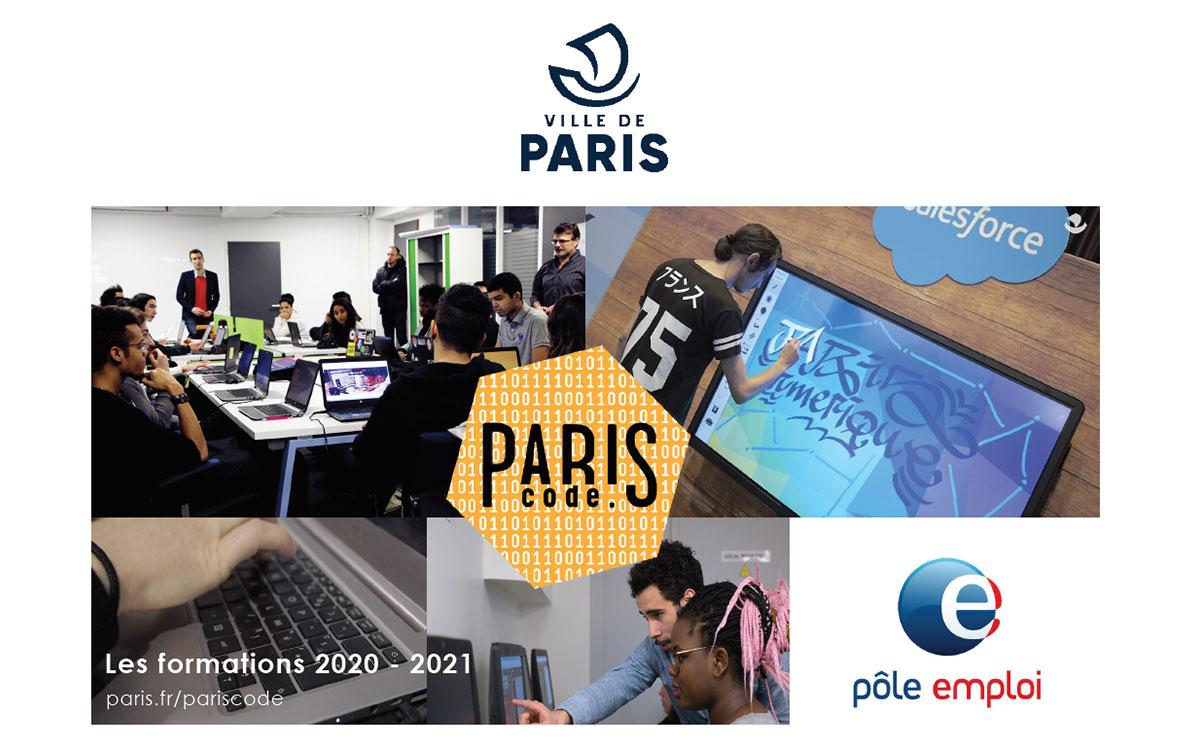 Couverture catalogue ParisCode