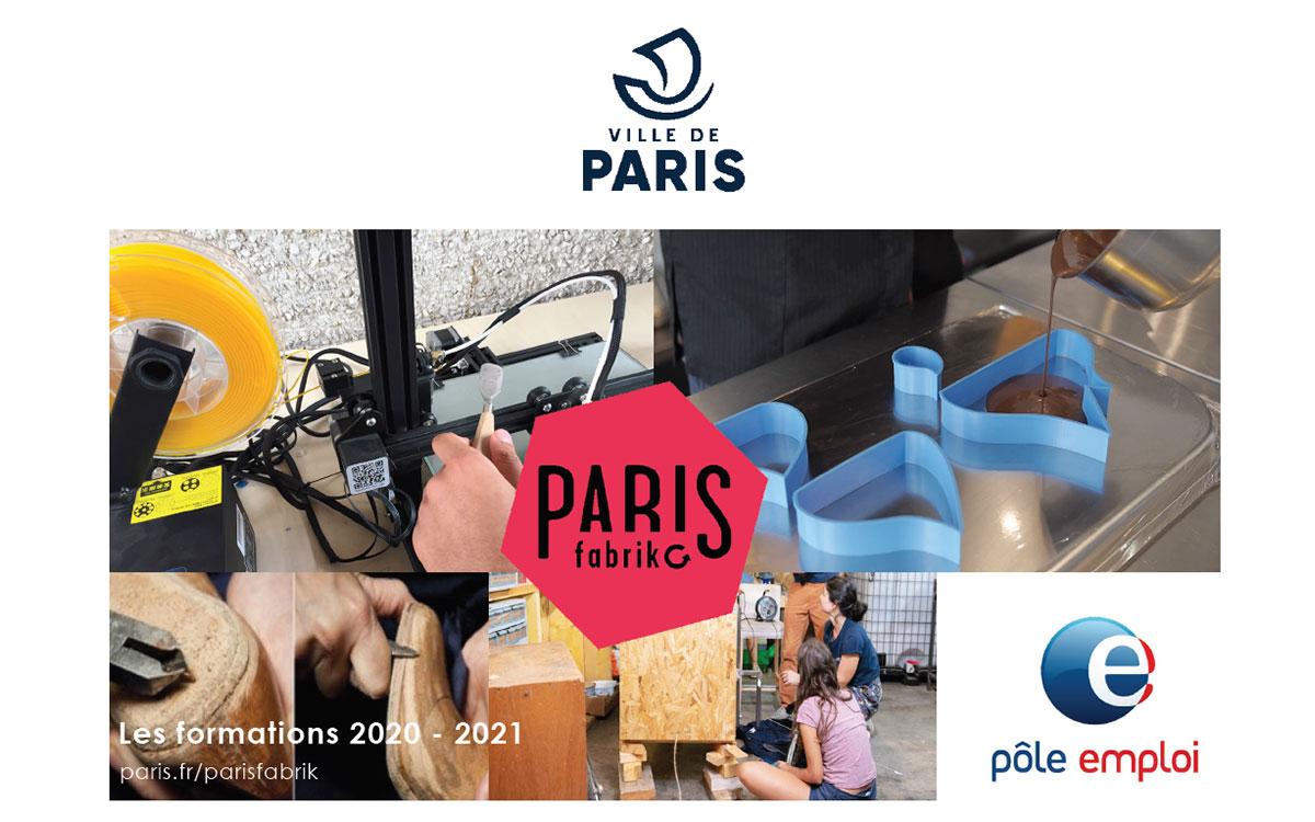 Couverture du catalogue ParisFabrik