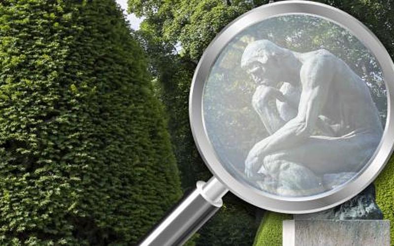 Le Penseur - Visites en famille au musée Rodin