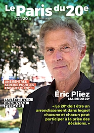 Couverture du magazine À Paris