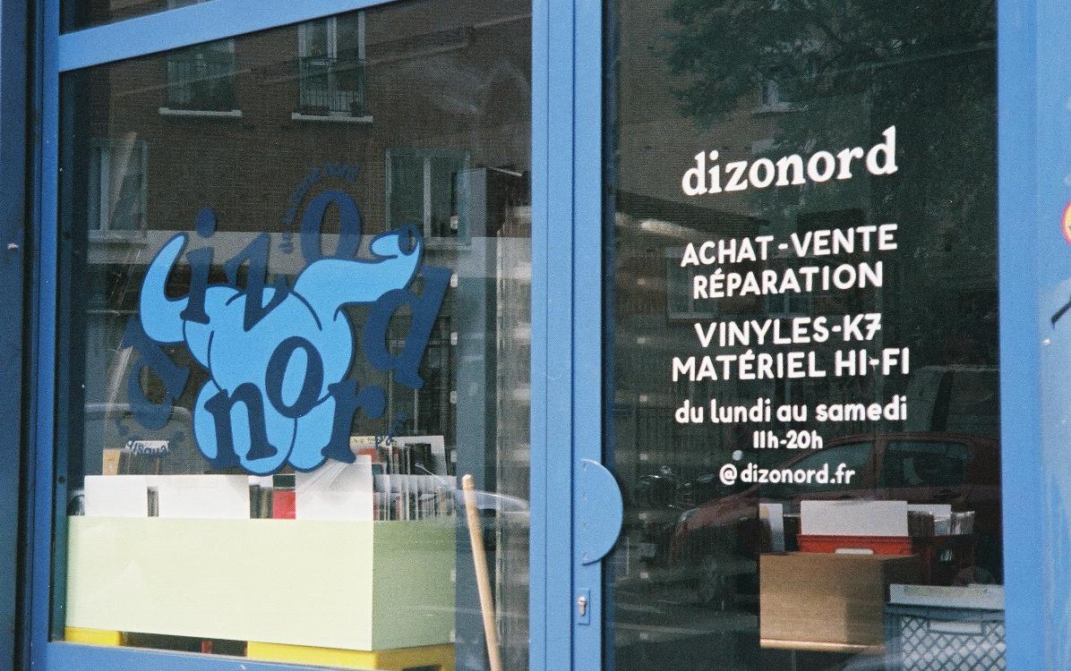 Disquaire Dizonord, 9 rue André Messager, 75018 Paris