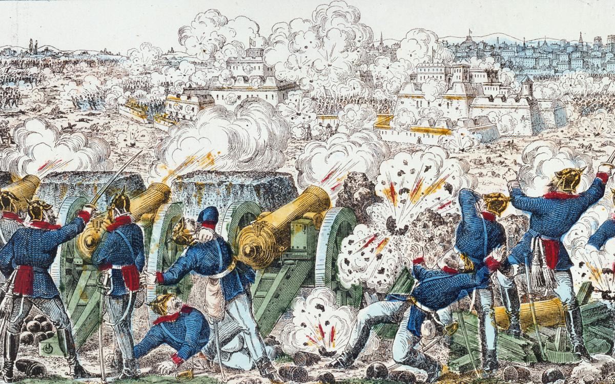 Le bombardement de Paris, pendant son siège.